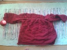 trøje,rød